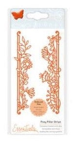 Tonic Studios Fanciful Floral Die - Posy Pillar Strips Die Set
