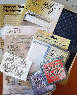 Bundle Deal - Tonic Studios / Tim Holtz - Travel Stamp Platform