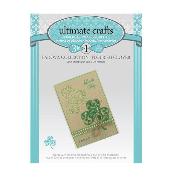 Ultimate Crafts - Flourish Clover - Padova Collection WH