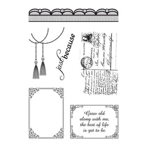 Stamp Set - ML - Magnolia Lace (4 x 6in)