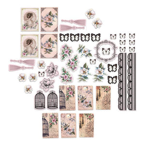 Ultimate Crafts Magnolia Lane Collection - Ephemera Set WH