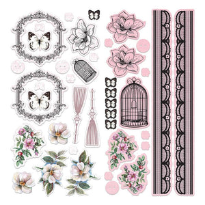 Adhesive Chipboard - ML - Magnolia Lane Set