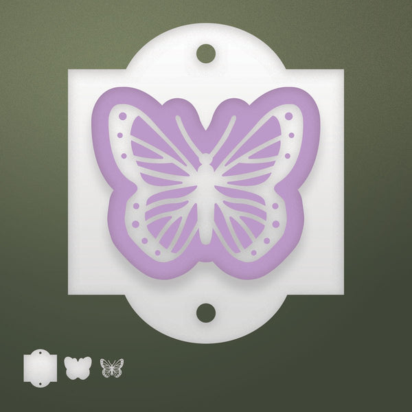 Die - RR - Butterfly Tag
