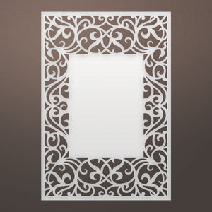 Die - LQ - Antiquity Frame Background (1pc)