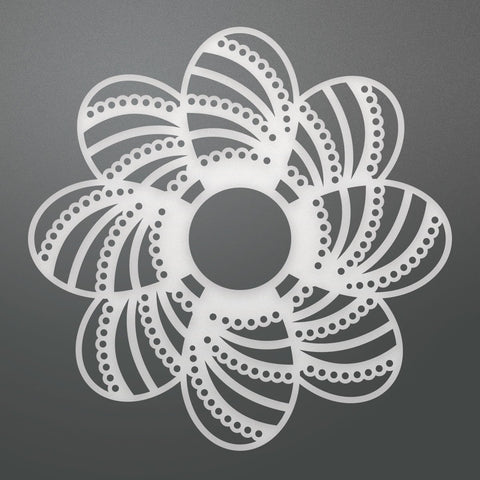 Die - BB - Laced Petals Doily (1pc)