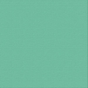 Ultimate Crafts 12x12 CARDSTOCK - AQUAMARINE (10 Sheets)