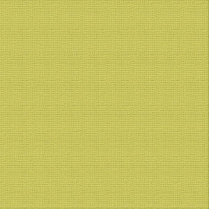 Ultimate Crafts 12x12 CARDSTOCK - CHARTREUSE (10 Sheets)