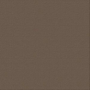 Ultimate Crafts 12x12 CARDSTOCK - CHOCOLATE (10 Sheets)