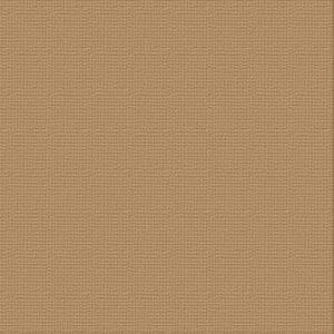 Ultimate Crafts 12x12 CARDSTOCK - CINNAMON (10 Sheets)