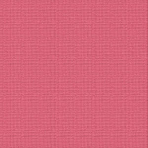 Ultimate Crafts 12x12 CARDSTOCK - BUBBLEGUM (10 Sheets)