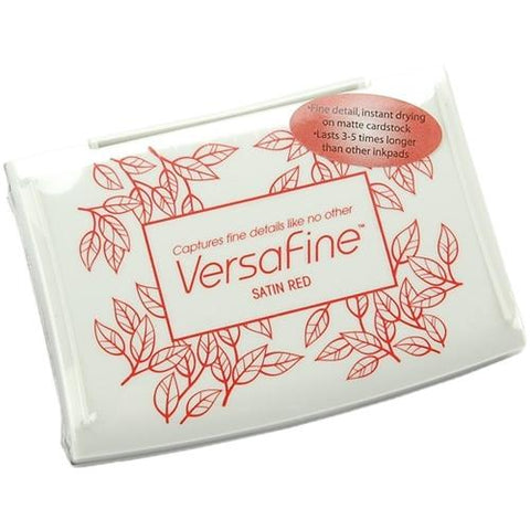 VersaFine Ink Pad - Satin Red