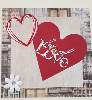 Valentines Square Card Kit | Hobby Craft and Scrap