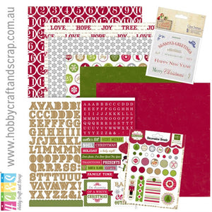 Christmas Kit 4 (Papermania & Echo Park)