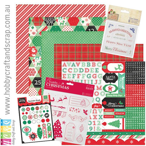 Christmas Kit 6 (Papermania & Echo Park)