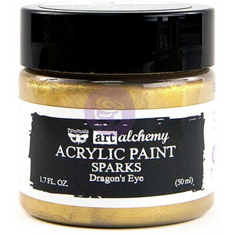 Prima - Art Alchemy Sparks Acrylic Paint (50ml) - Dragon's Eye