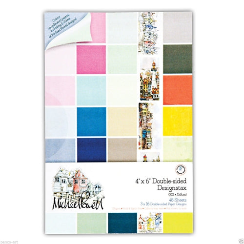 Docrafts - Michael Powell Double Sided Card Design Stack (200gsm 48 sheets/4x6)