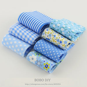 Jelly Roll Teramila 100% Cotton - Blues (7 pcs)