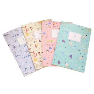 A5 Softcover Notebook 30 pages - Set of 4