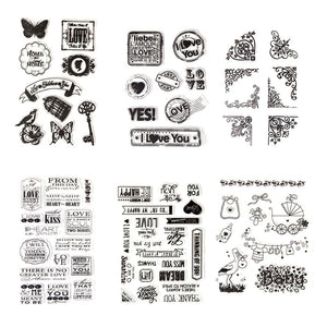 HCS Stamp Kit - Daily Life (6 sheets of stamps)