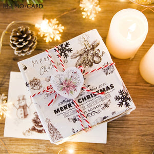 Sticker Christmas Mini Paper Decoration (45 pcs)