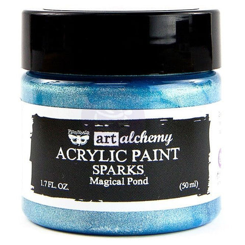 Prima - Art Alchemy Sparks Acrylic Paint (50ml) - Magical Pond