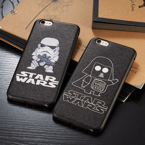 Coque Star wars pour  iPhone 6 Plus,iPhone 6s,iPhone 6,iPhone 6s plus,iPhone 7,iPhone 7 Plus,iPhone 8,iPhone 8 Plus
