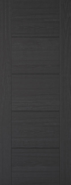 LPD Internal Vancouver Black Laminated Fire Door