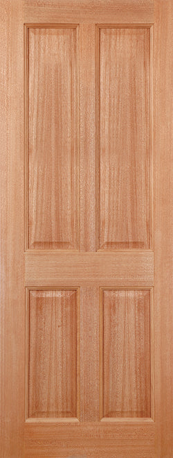 LPD External Hardwood Colonial 4 Panel Door M&T