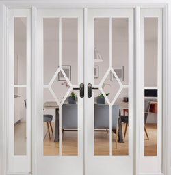 LPD Interal White Prime Plus REIMS Room Divider Set
