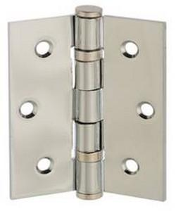 "Atlantic Handles 3"" x 2"" x 2mm Ball Bearing Pair of Hinges in a Satin Stainless Steel Finish-Door Store Rotherham"