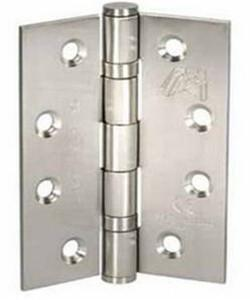 Atlantic Handles Fire Door Ball Bearing Pair of Hinges in a Stainless Steel Finish-Door Store Rotherham
