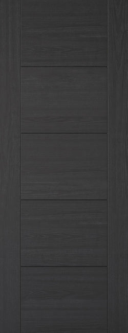 LPD Internal Vancouver Charcoal Black 5 Panel  Fire Door