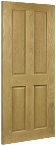 Deanta Doors Internal Bury Oak Pre-Finished Door-Door Store Rotherham