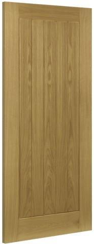 Deanta Doors Internal Ely Oak Un-Finished Door-Door Store Rotherham