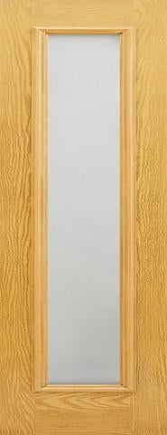 LPD External GRP Oak Frosted Sidelight-Door Store Rotherham