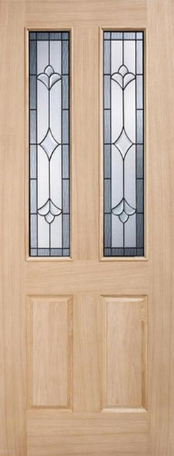 LPD External Oak Salisbury Part L Warmer Door-Door Store Rotherham