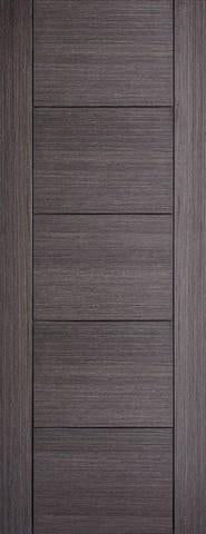 LPD Internal Ash Grey Vancouver Solid Door-Door Store Rotherham
