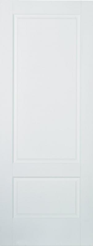 LPD Internal Brooklyn 2 Panel Solid White Primed Door-Door Store Rotherham