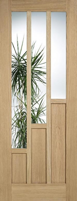 LPD Internal Coventry Oak Glazed Door-Door Store Rotherham