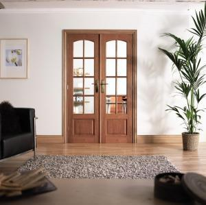 LPD Internal Hardwood Room Divider-Door Store Rotherham