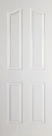 LPD Internal Mayfair 4P White Moulded Door-Door Store Rotherham