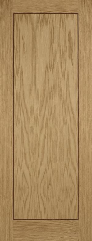 LPD Internal Oak Inlay 1 Panel Door-Door Store Rotherham