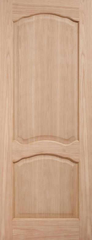 LPD Internal Oak Louis Non-Raised Mouldings Fire Door-Door Store Rotherham