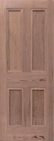 LPD Internal Pitch Pine 4 Panel Mortice & Tenon Door-Door Store Rotherham