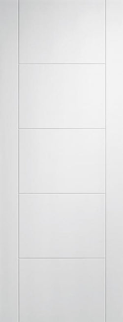 LPD Internal Vancouver White Primed Fire Door-Door Store Rotherham