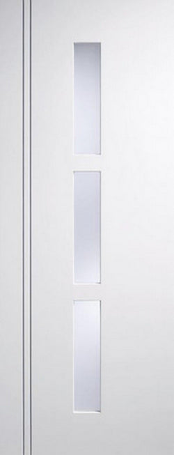 LPD Internal White Sierra Blanco Glazed Door-Door Store Rotherham