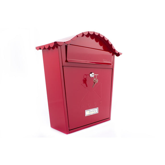 Sterling Post Box MB01 in Red-Door Store Rotherham