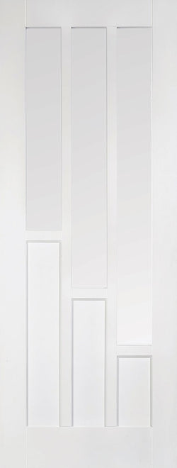 LPD Internal White Primed Coventry Glazed Door-Door Store Rotherham