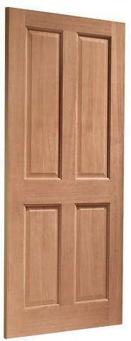 XL Joinery External Hardwood Dowelled London 4 Panel Door-Door Store Rotherham