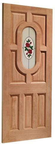 XL Joinery External Hardwood Dowelled Single Glazed Acacia Door-Door Store Rotherham